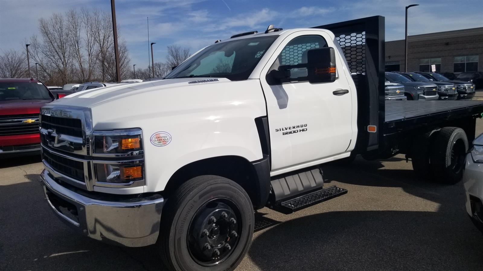 2020 Silverado 5500 Regular Cab DRW 4x2,  Knapheide Heavy-Hauler Junior Platform Body #20C2396 - photo 6