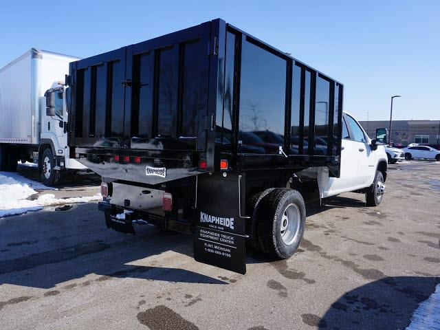 2020 Chevrolet Silverado 3500 Crew Cab DRW 4x2, Knapheide Landscape Dump #20C2518 - photo 1