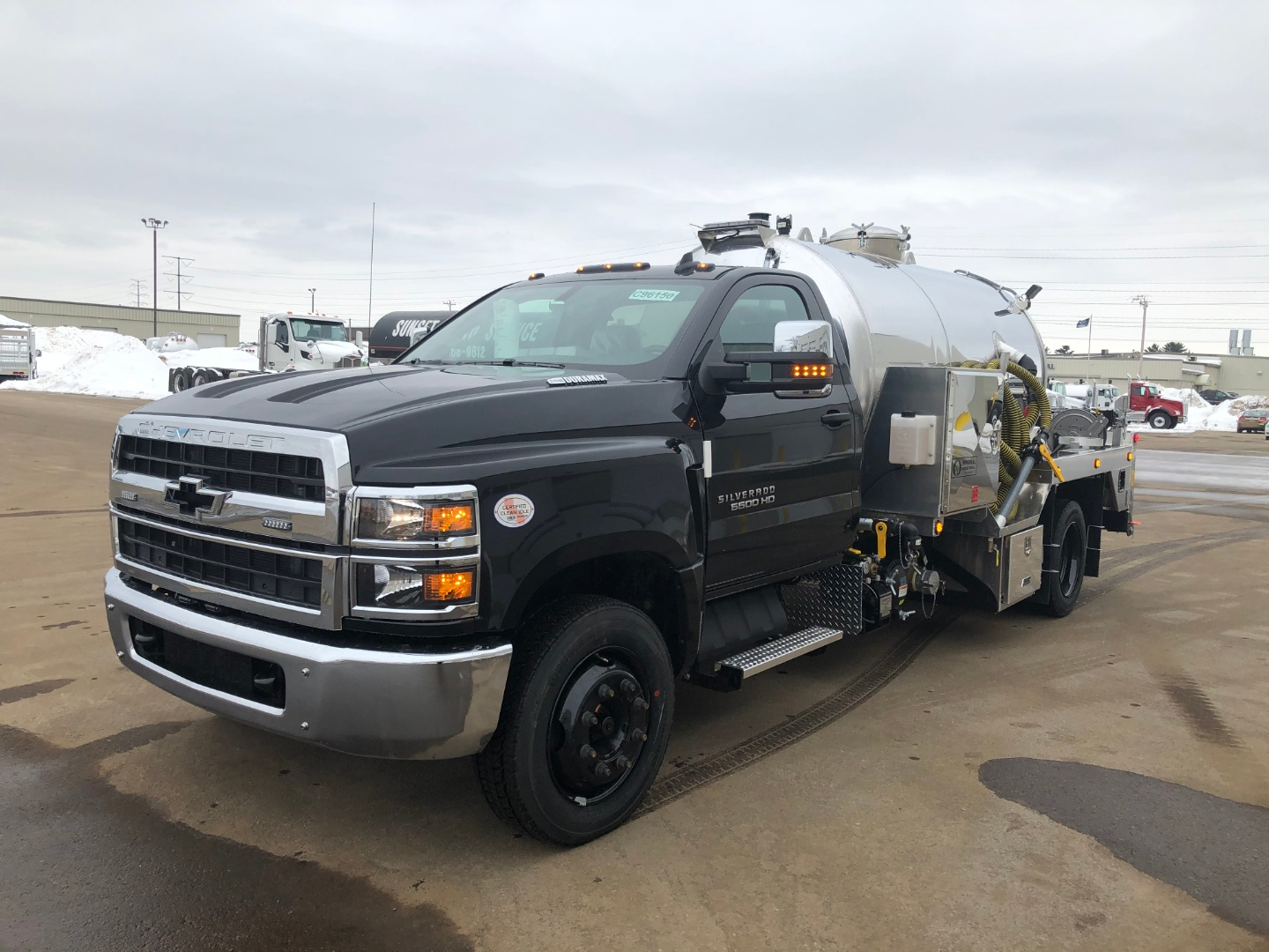 2020 Chevrolet Silverado 6500 Regular Cab DRW 4x2, Imperial Industries Inc. Water Truck #20C775 - photo 1