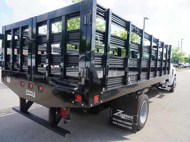 2020 Silverado 5500 Regular Cab DRW 4x2,  Knapheide Value-Master X Stake Bed #20CC2565 - photo 2