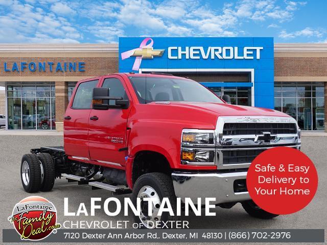 2021 Chevrolet Silverado 6500 Crew Cab DRW 4x4, Cab Chassis #21CC1077 - photo 1