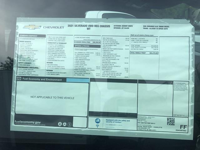 2021 Silverado 3500 Regular Cab 4x4,  Duramag S Series Service Body #21CC1625 - photo 7