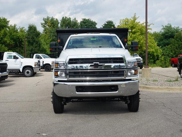 2021 Silverado 4500 Regular Cab DRW 4x4,  Monroe Truck Equipment MTE-Zee Dump Body #21CC1735 - photo 4