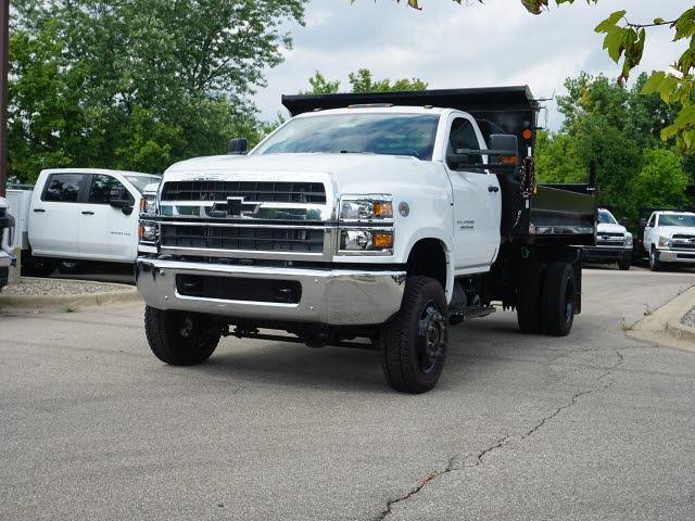 2021 Silverado 4500 Regular Cab DRW 4x4,  Monroe Truck Equipment MTE-Zee Dump Body #21CC1735 - photo 6