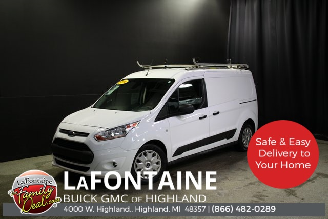 2016 Ford Transit Connect 4x2, Upfitted Cargo Van #0G1863P - photo 1