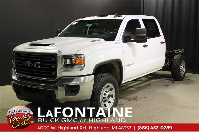 2019 Sierra 3500 Crew Cab 4x4,  Cab Chassis #19G3487 - photo 1