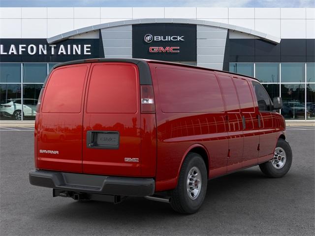 2020 GMC Savana 3500 4x2, Empty Cargo Van #20G4345 - photo 2