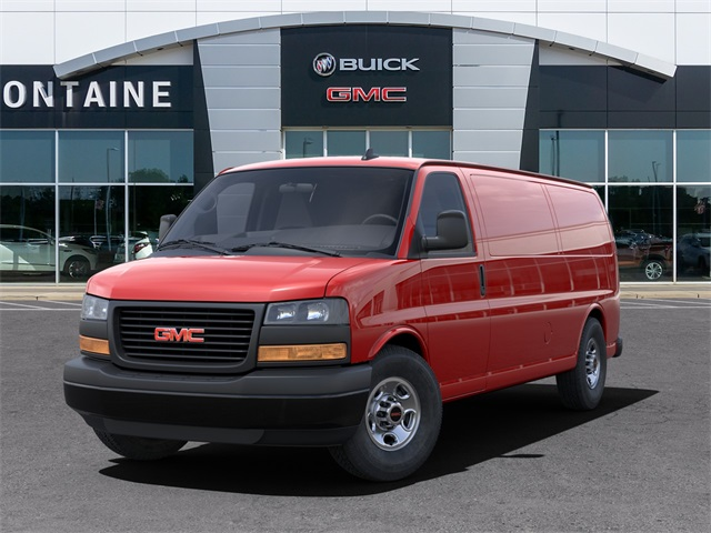 2021 GMC Savana 3500 4x2, Empty Cargo Van #21GC1323 - photo 6