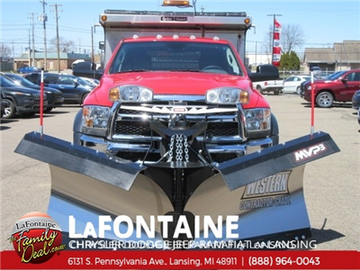 2015 Ram 4500 Regular Cab DRW 4x4,  Galion 103U Dump Body #15L0001 - photo 4