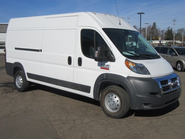 2016 Promaster 3500 High Roof Fwd Sortimo Propa Electrician Uped Cargo Van 16l1002