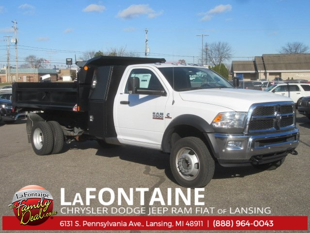2016 Ram 5500 Regular Cab DRW 4x4 Dump Body #16L2306 - photo 1