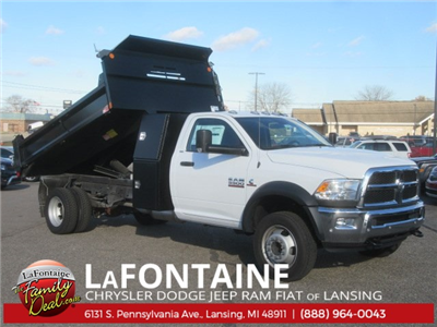 2016 Ram 5500 Regular Cab DRW 4x4 Dump Body #16L2306 - photo 3