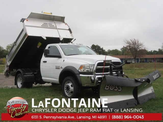 2017 Ram 5500 Regular Cab DRW 4x4 Dump Body #17L1284 - photo 3