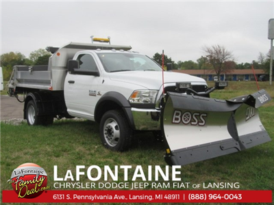 2017 Ram 5500 Regular Cab DRW 4x4 Dump Body #17L1284 - photo 1