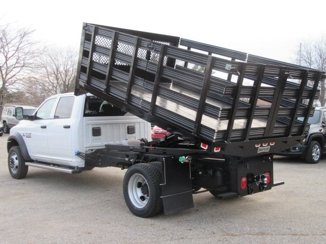 2017 Ram 5500 Crew Cab DRW 4x4, Knapheide Heavy-Hauler Junior Stake Bed #17L1412 - photo 2