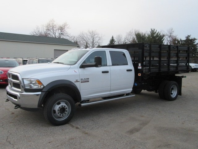2017 Ram 5500 Crew Cab DRW 4x4, Knapheide Heavy-Hauler Junior Stake Bed #17L1412 - photo 3