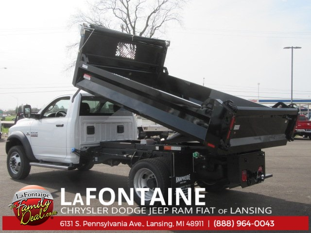 2017 Ram 5500 Regular Cab DRW 4x4, Knapheide Dump Body #17L1854 - photo 2
