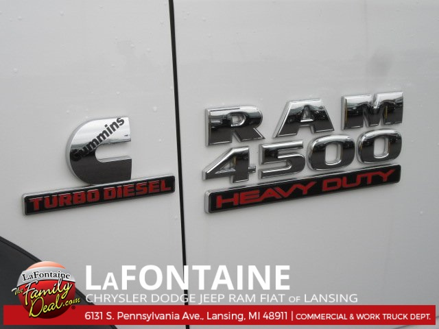 2017 Ram 4500 Regular Cab DRW, Knapheide Stake Bed #17L1855 - photo 10