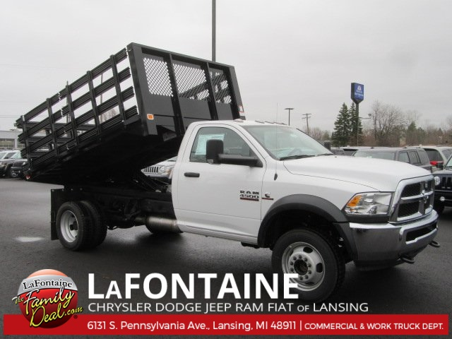 2017 Ram 4500 Regular Cab DRW, Knapheide Stake Bed #17L1855 - photo 3