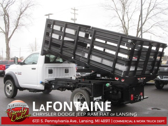 2017 Ram 4500 Regular Cab DRW, Knapheide Stake Bed #17L1855 - photo 2