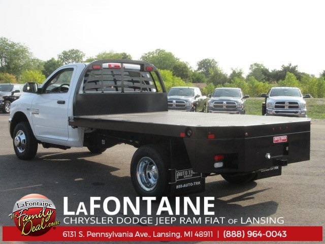 2017 Ram 3500 Regular Cab DRW, Auto Truck Group Platform Body #17L2495 - photo 2