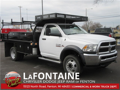 2017 Ram 5500 Regular Cab DRW 4x4 Contractor Body #17L2557 - photo 1