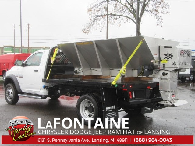 2017 Ram 5500 Regular Cab DRW 4x4, Knapheide Platform Body #17L2573 - photo 3