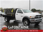 2017 Ram 5500 Regular Cab DRW 4x4, Knapheide Platform Body #17L2573 - photo 1