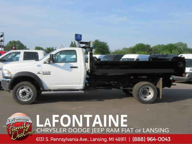 2017 Ram 4500 Regular Cab DRW 4x4,  Knapheide Drop Side Dump Body #17L2677 - photo 12