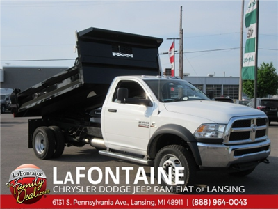 2017 Ram 4500 Regular Cab DRW 4x4,  Knapheide Drop Side Dump Body #17L2677 - photo 1
