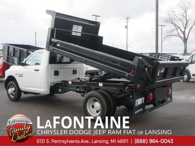 2018 Ram 3500 Regular Cab DRW 4x4,  Air-Flo Dump Body #18L1145 - photo 2