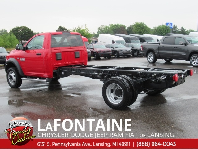 2018 Ram 5500 Regular Cab DRW 4x4,  Cab Chassis #18L1526 - photo 2