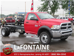 2018 Ram 5500 Regular Cab DRW 4x4,  Cab Chassis #18L1526 - photo 1