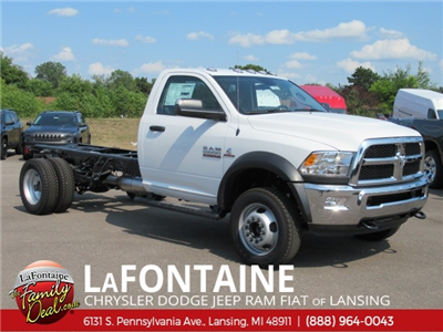 2018 Ram 5500 Regular Cab DRW 4x4,  Cab Chassis #18L1559 - photo 1