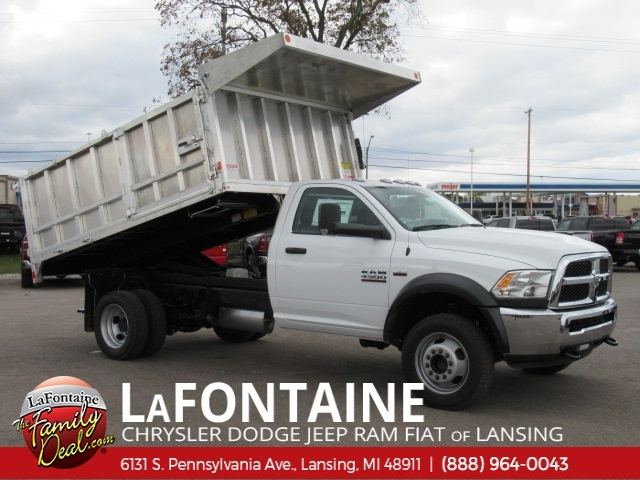 2018 Ram 4500 Regular Cab DRW 4x4,  Monroe MTE-Zee Landscape Dump #18L1884 - photo 3
