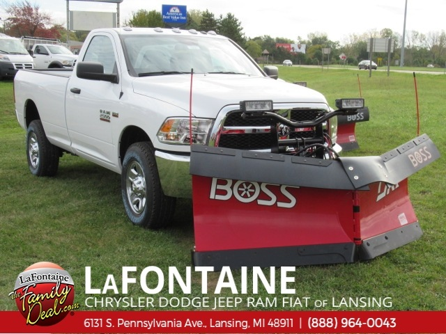 2018 Ram 2500 Regular Cab 4x4,  BOSS Snowplow Pickup #18L1900 - photo 1