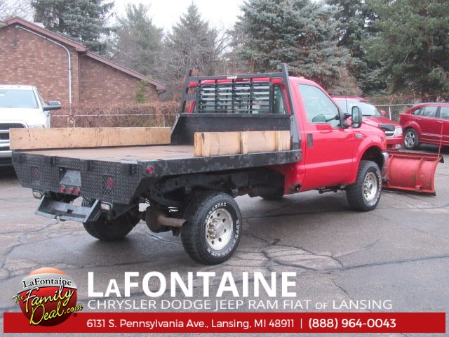 2001 F-350 Regular Cab 4x4,  Platform Body #18L1929A - photo 2