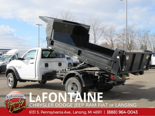2018 Ram 5500 Regular Cab DRW 4x4,  Switch N Go Dump Body #18L346 - photo 2