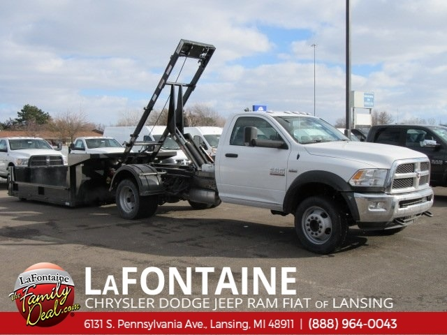 2018 Ram 5500 Regular Cab DRW 4x4,  Switch N Go Dump Body #18L346 - photo 6