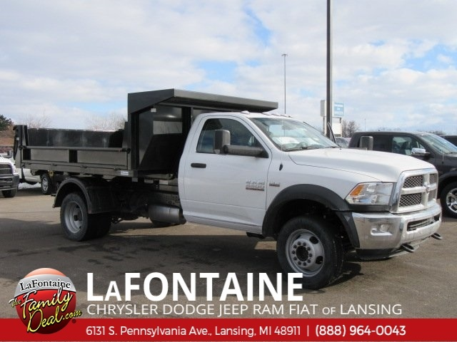 2018 Ram 5500 Regular Cab DRW 4x4,  Switch N Go Dump Body #18L346 - photo 8