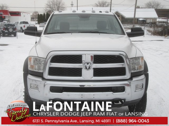 2018 Ram 5500 Regular Cab DRW 4x4 Cab Chassis #18L435 - photo 4