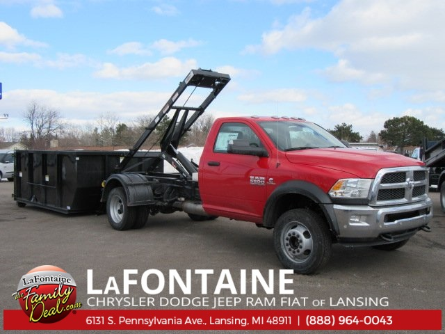 2018 Ram 5500 Regular Cab DRW 4x4, Switch N Go Landscape Dump #18L589 - photo 12
