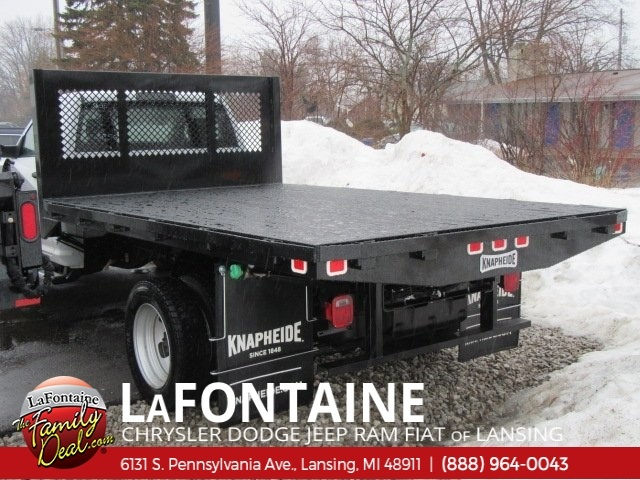 2018 Ram 5500 Regular Cab DRW 4x4,  Knapheide Heavy-Hauler Junior Platform Body #18L791 - photo 3