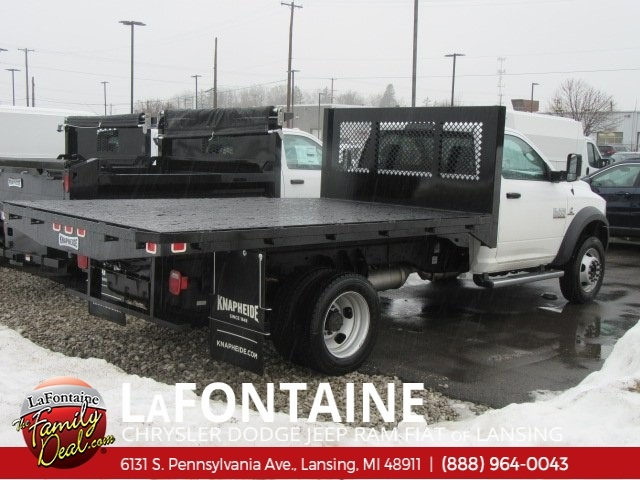 2018 Ram 5500 Regular Cab DRW 4x4,  Knapheide Platform Body #18L791 - photo 2