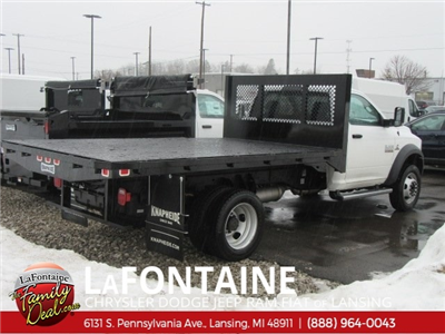 2018 Ram 5500 Regular Cab DRW 4x4,  Knapheide Heavy-Hauler Junior Platform Body #18L791 - photo 2
