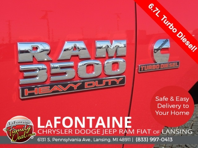 2018 Ram 3500 Regular Cab DRW 4x4,  Knapheide Platform Body #18L973 - photo 8