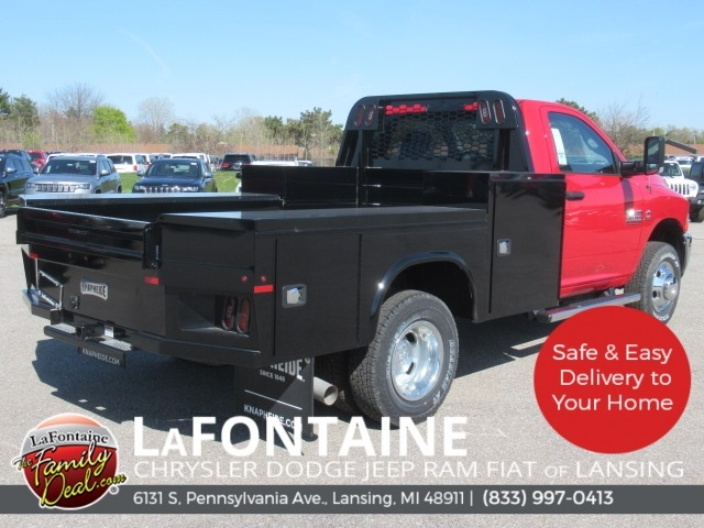 2018 Ram 3500 Regular Cab DRW 4x4,  Knapheide Platform Body #18L973 - photo 9