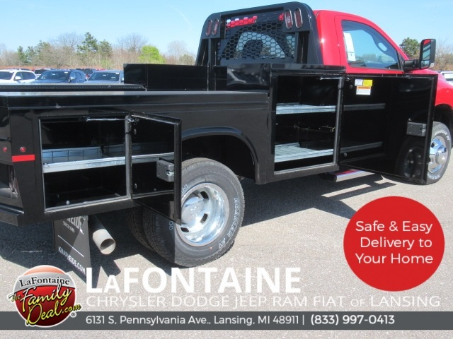 2018 Ram 3500 Regular Cab DRW 4x4,  Knapheide Platform Body #18L973 - photo 10