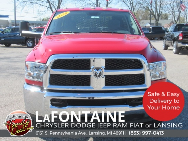 2018 Ram 3500 Regular Cab DRW 4x4,  Knapheide Platform Body #18L973 - photo 15