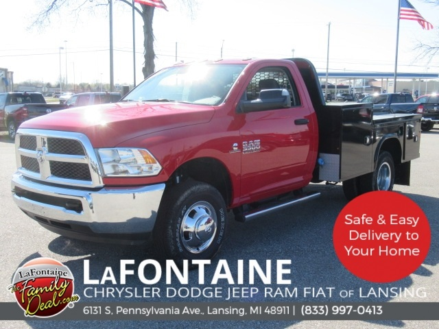 2018 Ram 3500 Regular Cab DRW 4x4,  Knapheide Platform Body #18L973 - photo 16